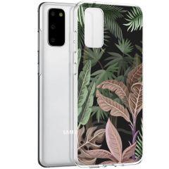 iMoshion Cover Design Samsung Galaxy S20 - Dark Jungle