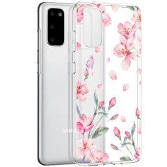 iMoshion Cover Design Samsung Galaxy S20 - Blossom Watercolor
