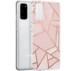iMoshion Cover Design Samsung Galaxy S20 - Pink Graphic