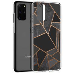 iMoshion Cover Design Samsung Galaxy S20 Plus - Black Graphic