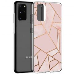 iMoshion Cover Design Samsung Galaxy S20 Plus - Pink Graphic
