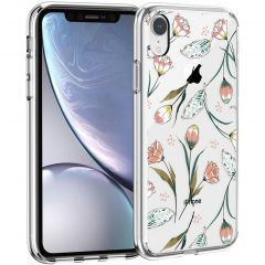 iMoshion Cover Design iPhone Xr - Vintage Flowers