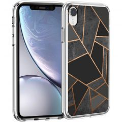 iMoshion Cover Design iPhone Xr - Black Graphic