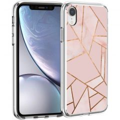 iMoshion Cover Design iPhone Xr - Pink Graphic