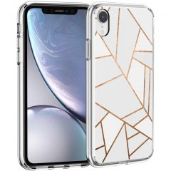 iMoshion Cover Design iPhone Xr - White Graphic