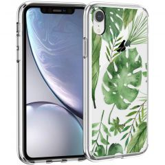 iMoshion Cover Design iPhone Xr - Monstera Leaves