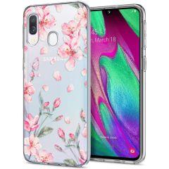 iMoshion Cover Design Samsung Galaxy A20e - Blossom Watercolor