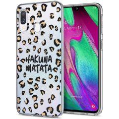 iMoshion Cover Design Samsung Galaxy A20e - Hakuna Matata