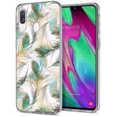 iMoshion Cover Design Samsung Galaxy A20e - Golden Peacock