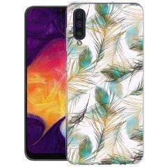 iMoshion Cover Design Samsung Galaxy A50 / A30s - Golden Peacock