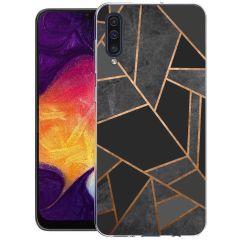 iMoshion Cover Design Samsung Galaxy A50 / A30s - Black Graphic