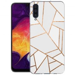 iMoshion Cover Design Samsung Galaxy A50 / A30s - White Graphic