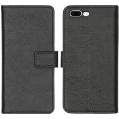 iMoshion Custodia Portafoglio de Luxe iPhone 8 Plus / 7 Plus - Nero