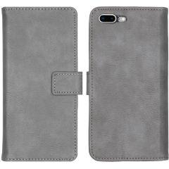 iMoshion Custodia Portafoglio de Luxe iPhone 8 Plus / 7 Plus - Grigio