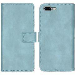 iMoshion Custodia Portafoglio de Luxe iPhone 8 Plus / 7 Plus - Azzurro