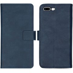 iMoshion Custodia Portafoglio de Luxe iPhone 8 Plus / 7 Plus - Blu scuro