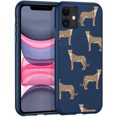 iMoshion Cover Design iPhone 11 - Leopard Animal