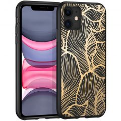 iMoshion Cover Design iPhone 11 - Golden Leaves