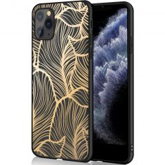 iMoshion Cover Design iPhone 11 Pro - Golden Leaves