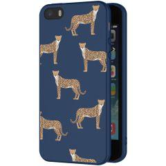 iMoshion Cover Design iPhone 5 / 5s / SE - Leopard Animal