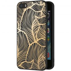iMoshion Cover Design iPhone 5 / 5s / SE - Golden Leaves