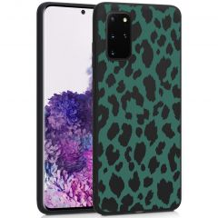 iMoshion Cover Design Samsung Galaxy S20 Plus - Green Leopard