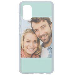 Cover Flessibile Personalizzate Samsung Galaxy A41 - Trasparente