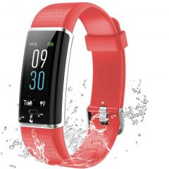Lintelek Activity Tracker Connesso - Rosso