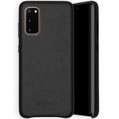 Selencia Gaia Cover Snake Samsung Galaxy S20 - Nero