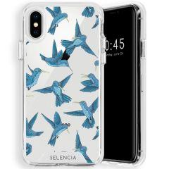 Selencia Zarya Cover Fashion Extra Protettiva iPhone Xs / X - Birds