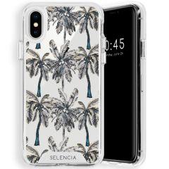Selencia Zarya Cover Fashion Extra Protettiva iPhone Xs / X - Palmtree