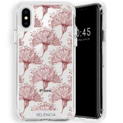 Selencia Zarya Cover Fashion Extra Protettiva iPhone Xs / X - Flowers