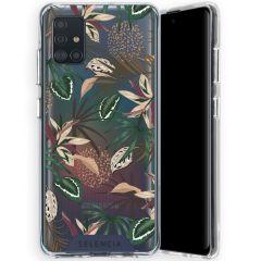 Selencia Zarya Cover Fashion Extra Protettiva Samsung Galaxy A51 - Jungle Leaves