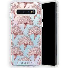 Selencia Zarya Cover Fashion Extra Protettiva Samsung Galaxy S10 - Flowers