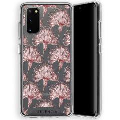 Selencia Zarya Cover Fashion Extra Protettiva Samsung Galaxy S20 - Flowers