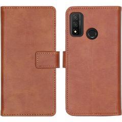 iMoshion Custodia Portafoglio de Luxe Huawei P Smart (2020) - Marrone