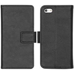 iMoshion Custodia Portafoglio de Luxe iPhone 5 / 5s / SE - Nero