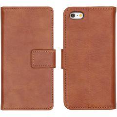 iMoshion Custodia Portafoglio de Luxe iPhone 5 / 5s / SE - Marrone