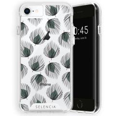 Selencia Zarya Cover Fashion Extra Protettiva iPhone SE (2020) / 8 / 7 / 6(s)  - Feathers