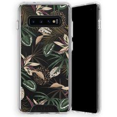 Selencia Zarya Cover Fashion Extra Protettiva Galaxy S10 Plus - Jungle Leaves