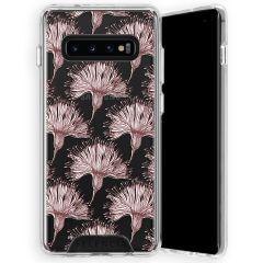 Selencia Zarya Cover Fashion Extra Protettiva Samsung Galaxy S10 Plus - Flowers