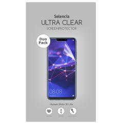 Selencia Pellicola Protettiva Ultra Trasparente Duo Pack Huawei Mate 20 Lite