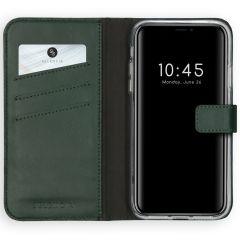 Selencia Custodia Portafoglio in Vera Pelle iPhone 11 - Verde