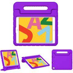iMoshion Cover Antishoc Speciale Bambini con Manico iPad 10.2 (2019 / 2020 / 2021) - Viola