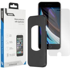 Accezz Pellicola Protettiva in Vetro Temperato + Applicatore iPhone SE (2020)