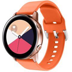 iMoshion Cinturino in Silicone Galaxy Watch 40/42mm / Active 2 42/44mm / Watch 3 41mm - Arancio