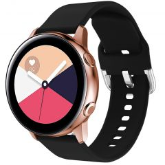 iMoshion Cinturino in Silicone Galaxy Watch 40/42mm / Active 2 42/44mm / Watch 3 41mm - Nero