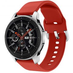 iMoshion Cinturino in Silicone Galaxy Watch 46mm / Gear S3 Frontier / Classic /Watch 3 45mm - Rosso