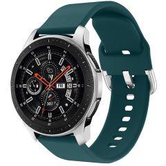iMoshion Cinturino in Silicone Galaxy Watch 46mm / Gear S3 Frontier / Classic /Watch 3 45mm - Verde