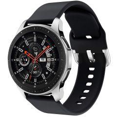 iMoshion Cinturino in Silicone Galaxy Watch 46mm / Gear S3 Frontier / Classic /Watch 3 45mm - Nero